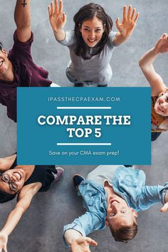 Considering the CMA? Compare the Top 5 Best CMA Prep Courses