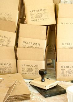 packaging etsy-featured-shop-heirloom-home-and-studio-gregg-and-jackie-moore-boxes