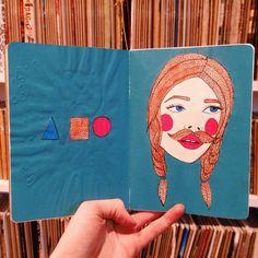 Sketchbook by Alexandra Ethells