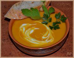 Dýňová indická polévka Garam Masala, Hummus, Soup Recipes, Good Food, Food And Drink, Pudding, Ethnic Recipes, Desserts, Indie