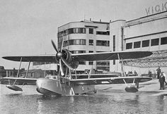Supermarine Sea Otter at the Vickers-Supermarine works at Woolston, Southampton