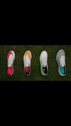 Nike cleats can't see spikes but I love the tops