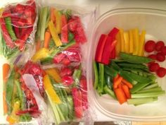 snacks packed ready to go.Real Fitness offers fantastic snack and recipe cook books x Healthy Veggie Snacks, Super Healthy Recipes, Healthy Recipes For Weight Loss, Healthy Foods To Eat, Healthy Lunches, Diet Snacks, Easy Snacks, Healthy Eats, Sin Gluten
