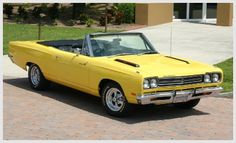 1969 Plymouth Roadrunner Convertable