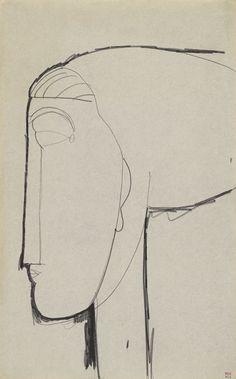 Modigliani drawings