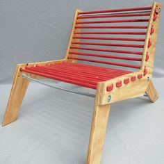 Trash to Treasure: Rubber Hose Chair - DIY - MOTHER EARTH NEWS