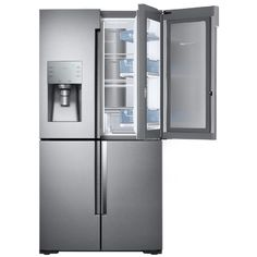 Samsung Flex 27.8-cu ft 4-Door French Door Refrigerator with Single Ice Maker Door Within Door (Stainless Steel)