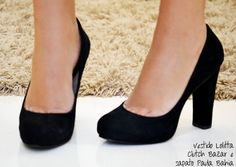 I actually like these black pumps! Adorable.