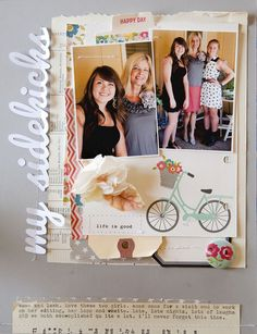 Becky Novacek used the Sept 13 sketch to create this sweet layout