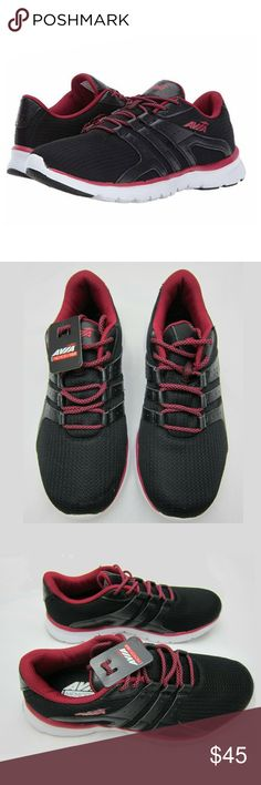 7d2fe34e7c Avia Womens Memory Foam Avi-Mania Running Shoe 6.5 Brand  Avia Colors  Black