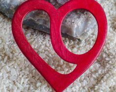 Schalring aus Holz Schalhalter Tuchhalter von AtelierSinger auf Etsy