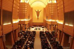 Interior del Templo de Don Bosco en el Colle