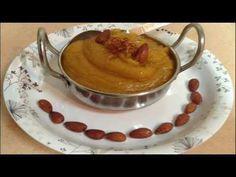 Badam Halwa - North Indian Recipe