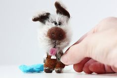 Mr. Dog  Symbol 2018 New Year   OOAK Collectible Miniature