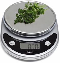 Counter Top Food Scale Digital Multifunction Kitchen Scale Portion Control #ozeri