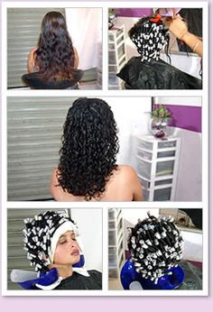 sissy salon getting a curly perm - Yahoo Image Search Results