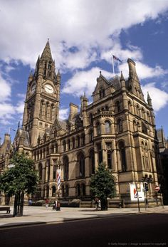 Town Hall, Manchester, England