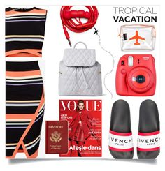 """""""Pack and Go: Cuba!"""" by dolly-valkyrie ❤ liked on Polyvore featuring Givenchy, Ted Baker, Fuji, Urbanears, Vera Bradley, Passport, Emma Lomax and Packandgo"""