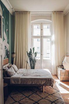 Home Tour with Tim Labenda & Hannes Krause - Our Food Stories Gucci Wallpaper, Mood Wallpaper, Welcome To My House, Diy Bed, Beautiful Interiors, Decoration, Interior Inspiration, Bedroom Decor, Bedroom Bed