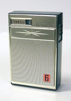 Trancel 6 transistor radio Phone Sounds, World Radio, Pocket Radio, Retro Clock, Retro Radios, Old Time Radio, Antique Radio, Transistor Radio, Old Music