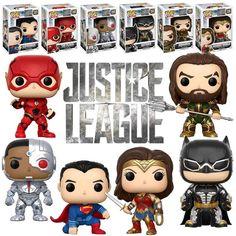 Funko POP! Justice League Bundle (6 POPs) - New, Mint Condition #Funko #FunkoPOP #JusticeLeague #Collectibles
