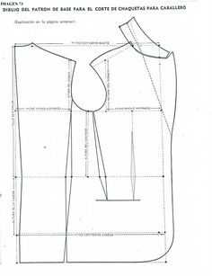 patrones de sacos para hombre - Buscar con Google