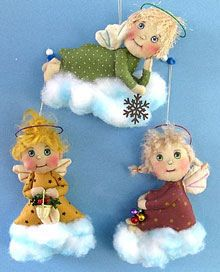 Little Angel Ornaments