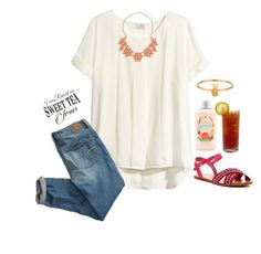 Thank god for sweet tea by emmagracejoness on Polyvore featuring H&M, American Eagle Outfitters, Dorothy Perkins and Lee Renee