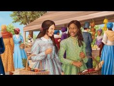 Very pretty Video ..... Introducing Marie-Grace Gardner™ and Cécile Rey™  by American Girl