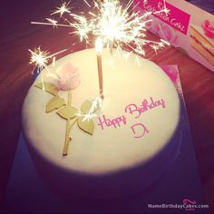 The name [di] is generated on Best Happy Birthday Cake For Lover With Name image. Download and share Birthday Cakes For Lover images and impress your friends.