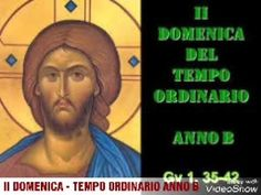 II DOMENICA TEMPO ORDINARIO   ANNO B