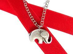Elephant Necklace by HendysHome $18.00