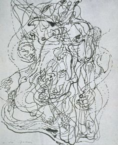 automatic drawing/Andre Masson