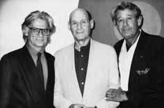 Richard Avedon, Irving Penn and Helmut Newton. The Masters.