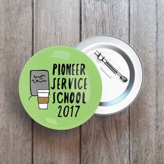 Pioneer Service School 2017 Button Pin, Badge Each Button Measures 1.25 inches (3.25cm) in diameter jw gifts - jw ministry - jw pioneer gifts - best life ever - jw pioneer - jw org - escuela de precursores - regalos The Best Life Ever Shop is a Specialty Shop dedicated to providing JW families a