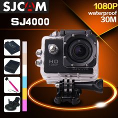 Full HD Action Camera: http://www.fromastore.com/products/100-original-sjcam-sj4000-1080p-extreme-sport-dv-full-hd-helmet-action-camera-diving-30m-waterproof-camera-gopro-camera-style/ #HD #HighQuality #ActionCamera #Camera #Video #VideoCamera #GoPro