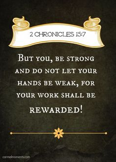 Bible Quote 2 Chronicles 157