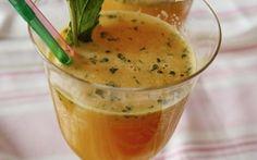 DIY-Anleitung: Orangensaft mit Ingwer und Minze zubereiten via DaWanda.com