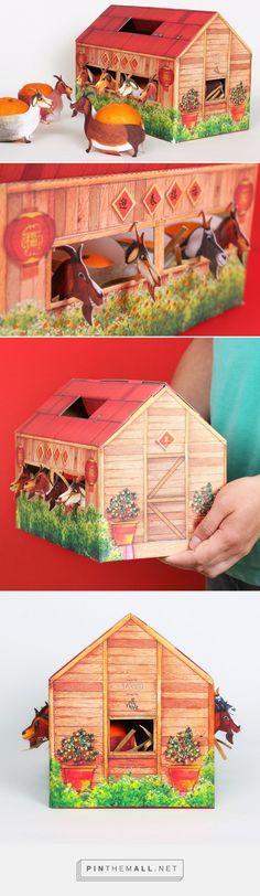 Goat's Barn packaging for Fine Paper Takeo designed by Eminent Creative (Malaysia) - http://www.packagingoftheworld.com/2016/03/kandang-kambing-goats-barn.html