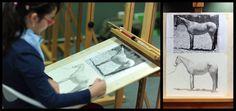 Julia (10) hat erfolgreich Ihren Ferien-Zeichenkurs bei uns absolviert. Mit viel Geduld und Fleiß hatn sie gelernt, wie sie die Proportionen sowie Licht und Schatten der Vorlage auf Papier überträgt. #academyoffineartbadhomburg #malen #badhomburg #zeichnen #Kunstschule