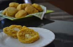 Homemade Sweet Potato Biscuits with Maple Butter