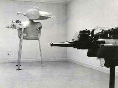grupaok: Shinkichi Tajiri, Ferdi en Shinkichi Tajiri, Van Abbemuseum, Eindhoven — installation view, 1970