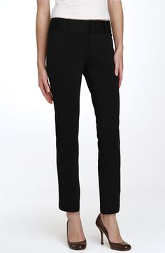 MICHAEL Michael Kors Straight Leg Ponte Knit Pants
