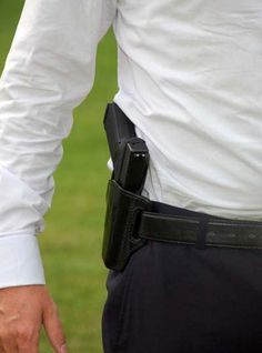 Tips for carrying a concealed weapon under every day clothing | Great article on how to carry your concealed weapon without showing it off to the public. #SurvivalLife www.SurvivalLife.com