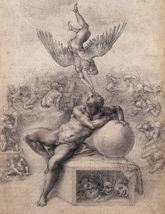 The Dream  Michelangelo -1533