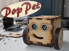 "PopPet – which recently made its Kickstarter debut – is described by its creator as an ""expandable, customizable and easy-to-assemble"" robot kit powered by the Atmel's ATmega8 MCU. #Atmel #ATmega8 #AVR #Makers #Robots #Robotics #DIY #Makers #PopPet"