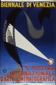 Manifesto Festival del Cinema di Venezia 1949