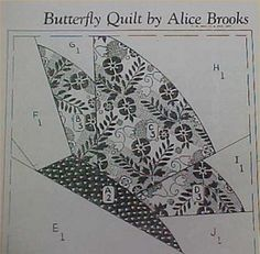 SALE-Vintage-Quilt-Pattern-Mail-Order-Butterfly-in-Flight-Block-Design-Quilter