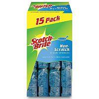 Scotch-Brite No Scratch Scrub Sponges - 12 pk. - Sam's Club