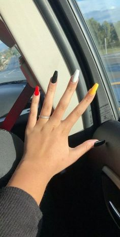 49 Sweet & Stylish Summer Nails for 2019 – Page 33 of 49 - Nail Designs Simple Acrylic Nails, Summer Acrylic Nails, Best Acrylic Nails, Summer Nails, Spring Nails, Edgy Nails, Grunge Nails, Stylish Nails, Trendy Nails